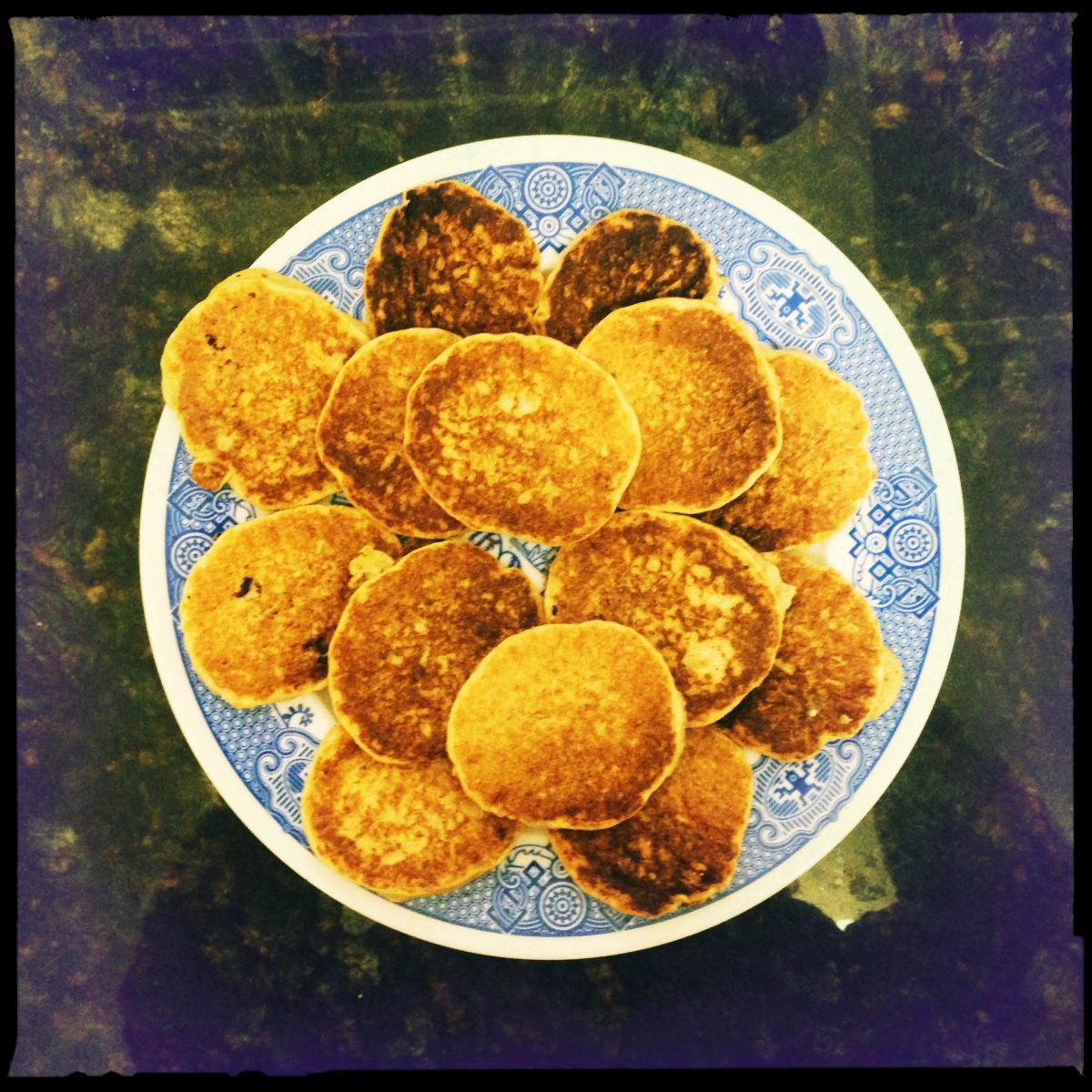 image of a plate of pancakes